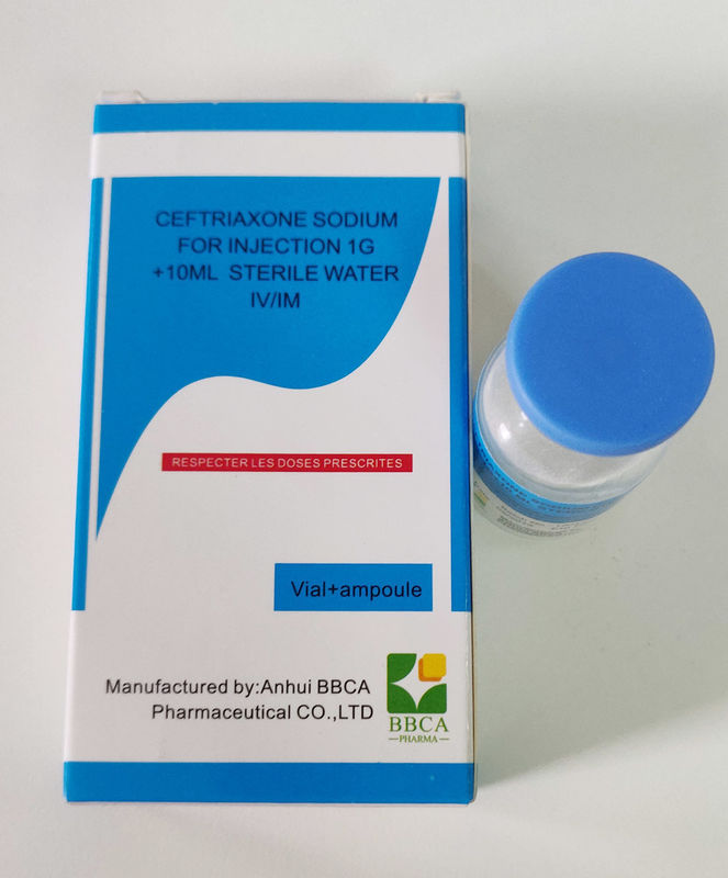 Ceftriaxone Sodium Powder For Injection Odorless White Crystalline Powder