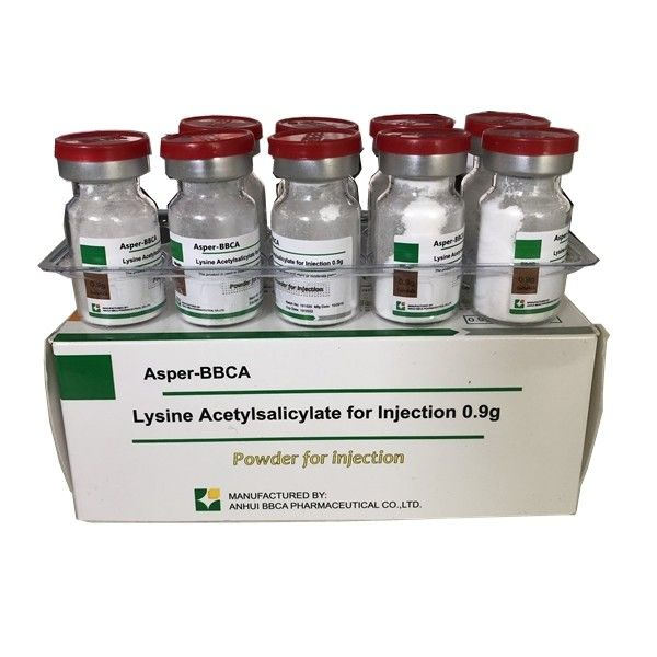 Cool Storage 0.9g Lysine Acetylsalicylate For Injection